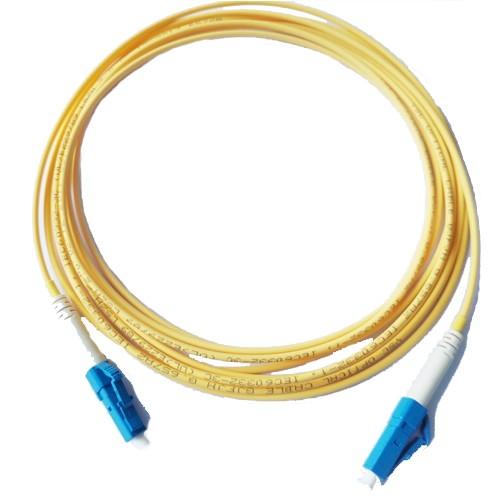 LC ao cabo de remendo da fibra óptica do único modo do LC