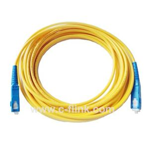 SC to SC Single Mode Fiber Patch Cord