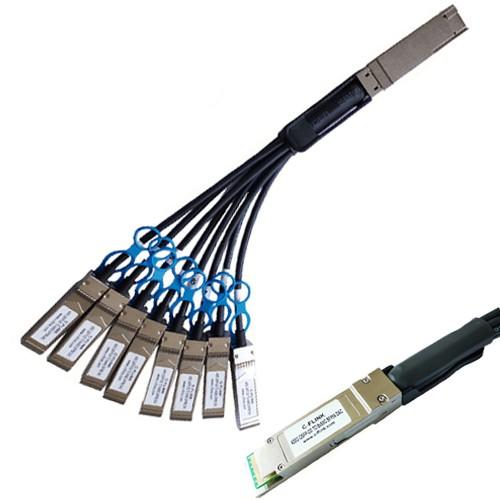 400G QSFP DD к 8x50G SFP56 медный кабель ЦАП Twinax