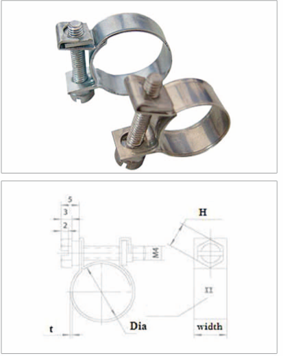 Μίνι Hose Clamp