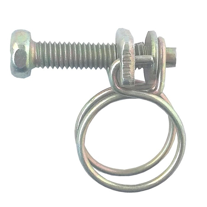Double Wire Hose Clamp Manufacturers, Double Wire Hose Clamp Factory, Supply Double Wire Hose Clamp