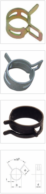 Spring Hose Clamp