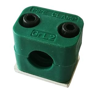 Single Hole Hydraulic Pipe Clamp