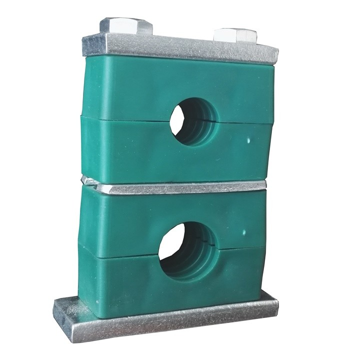 Double Hole Hydraulic Pipe Clamp