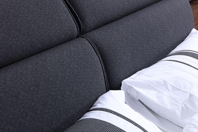 modern king sizefabric beds
