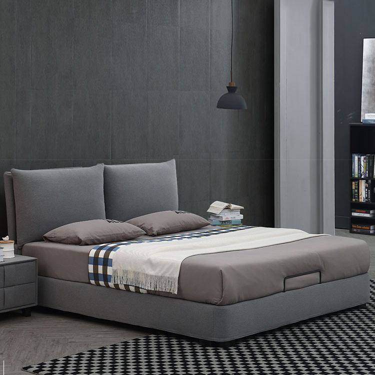 queen size soft bed