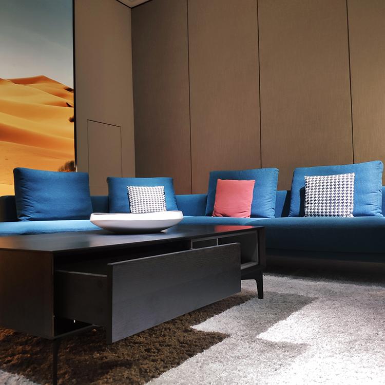 9610 Gaya Minimalis Ruang Tamu Sofa Fabrik Kain Sofa Set L Bentuk Sofa Dan Sofa Bahagian