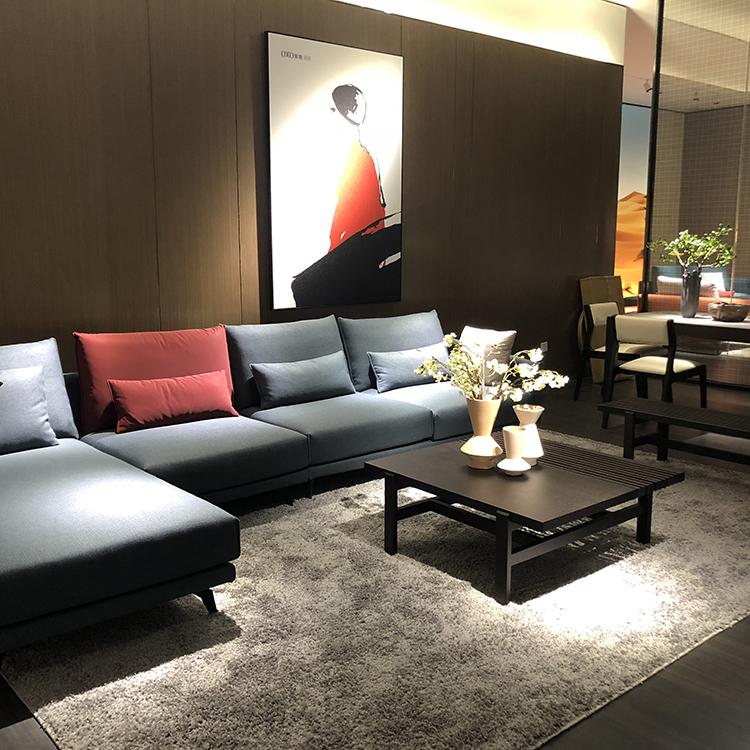 9606 Modern Sofa Tela Sofa Living Room Sofas Para sa Bahay