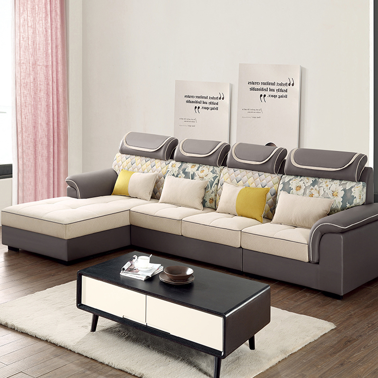 Corner Fabric Sofas L Shape Sofa
