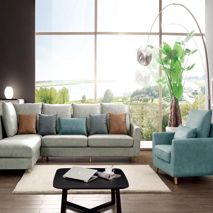 Living Room Sofa Itakda ang Luxury na Tela ng Modular Sofa