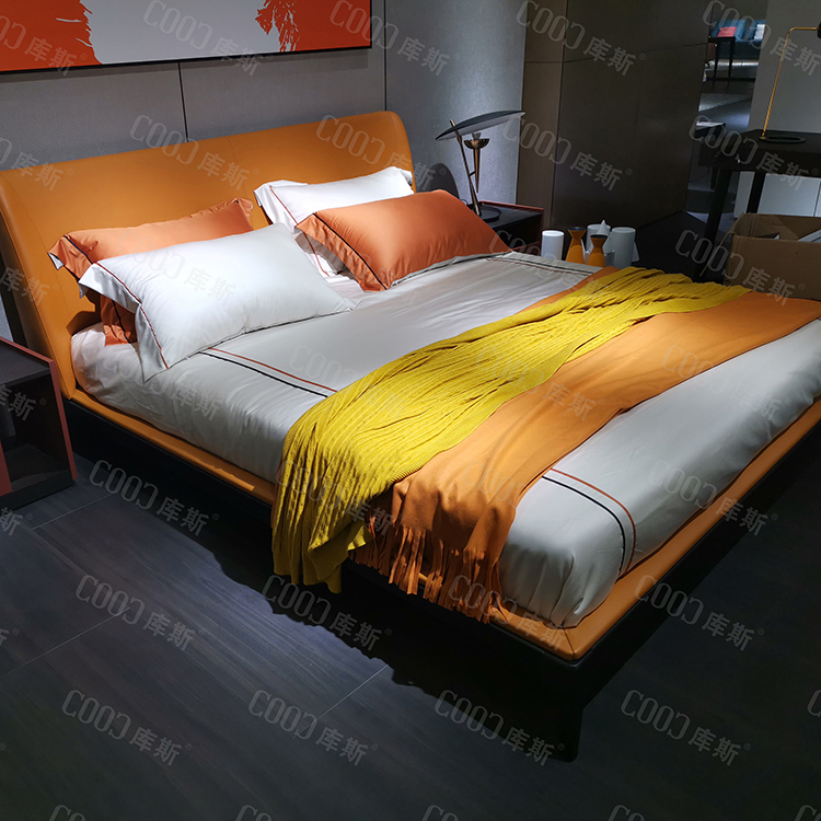 king size soft bed