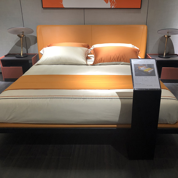 Minimalist style bed