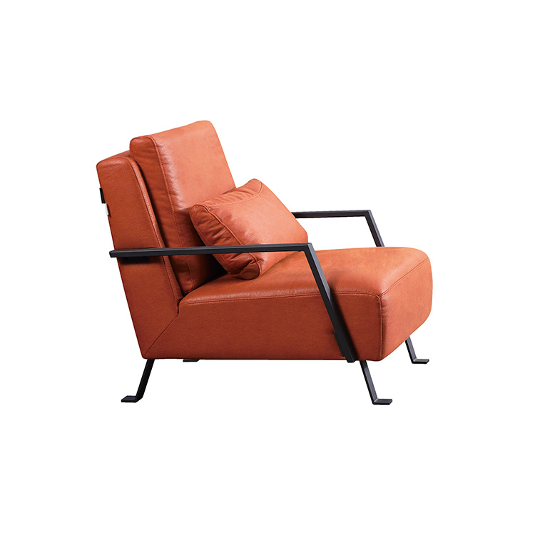 BY025-A Modern Fabric Leisure Arm Single Sofa Chair For Living Room