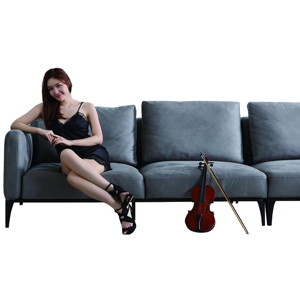 living room L shape sofa