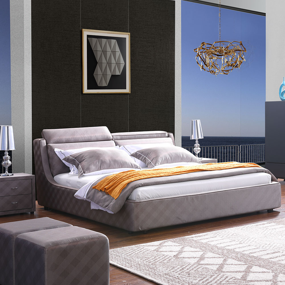 Supply 3139 Bedroom Furniture Set Solid Wood King Size Bed Home Factory Quotes Oem