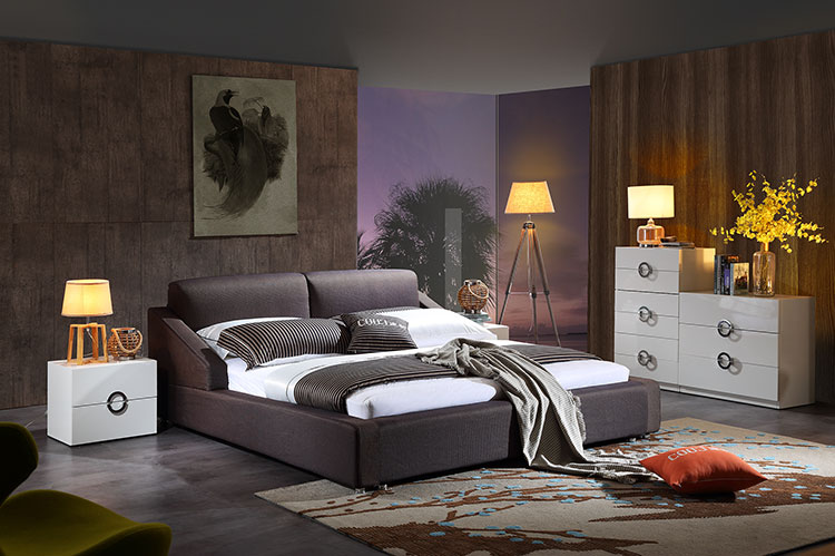 fabric soft bed