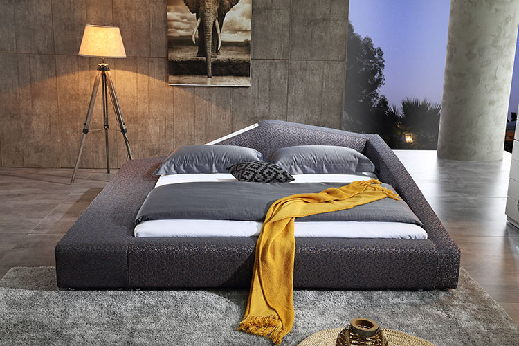 solid wood soft bed