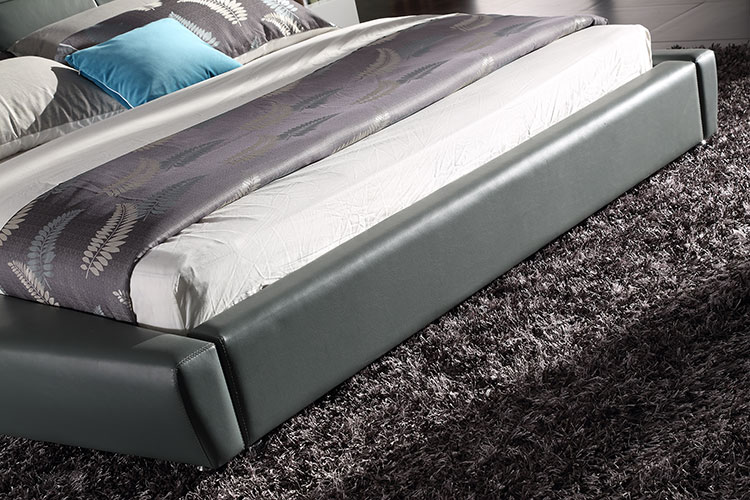 leather soft bed