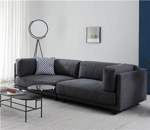 HYB-1057 Nordic Home Furniture Leisure Fabric Sofa Lounge Sofa