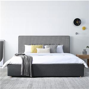 HYB-04 Modern Swallow Gird Style Designer Bed