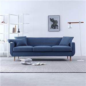 HYB-1017 Living Room Furniture Modern European Style Fabric Sofa with Wood Frame