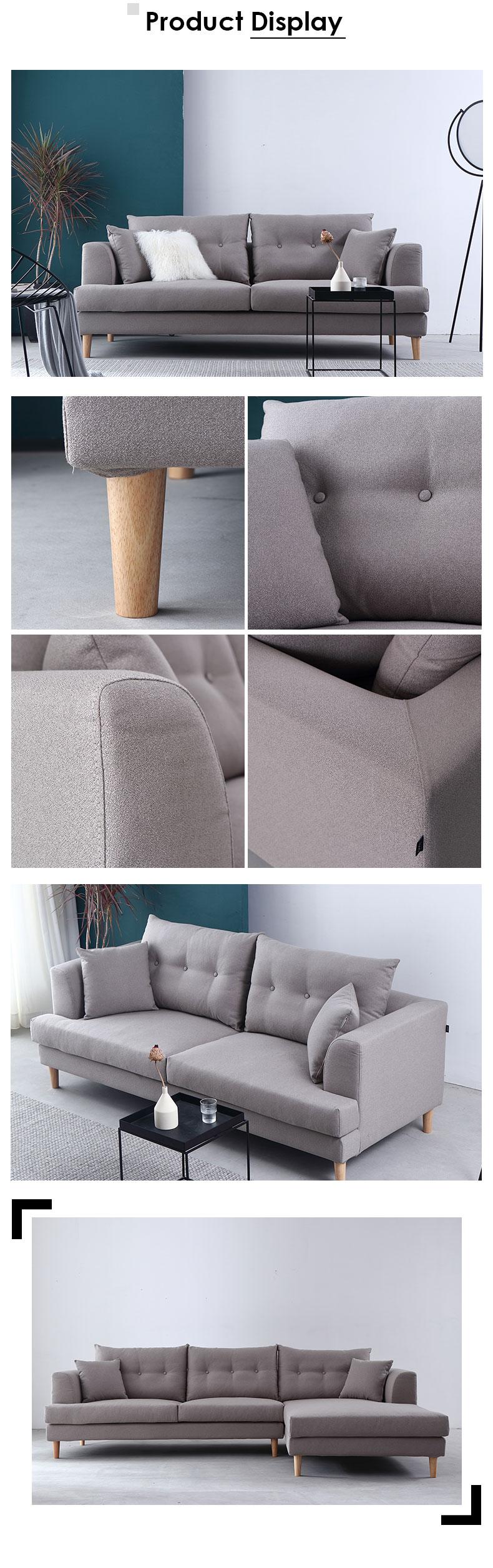 布製ソファ