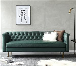 HYB-5033 Living Room Chesterfield Furniture Wood Frame Modern Sofa