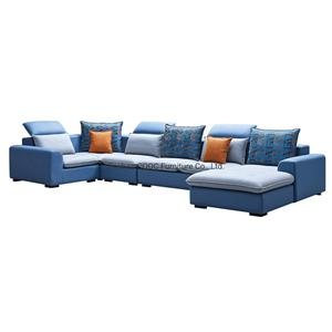 8183 Modern European Style Living Room Furniture Leathaire Sofa