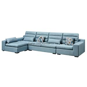 8185 Deep Soft Couches Fabric Modern Sofa with Latex Seat