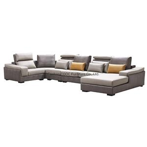 8058 Modern Living Room Furniture Super Soft Leathaire Sofa Furniture