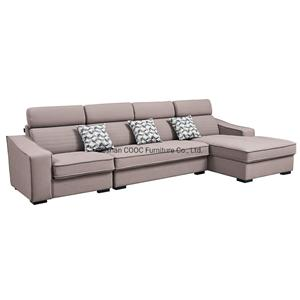 8163 Modern European Style Furniture Leathaire Leather L Shape Sofa