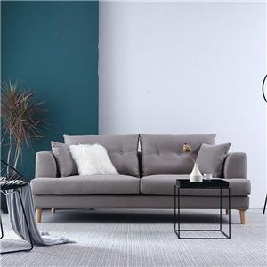 HYB-5032 Modern Minimalist Furniture Living Room Wood Frame Fabric Sofa