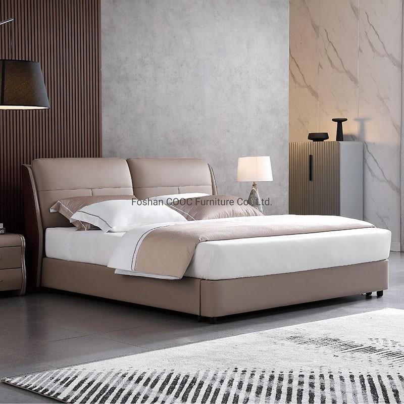 Ks2578 Perabot Bilik Tidur Moden Kulit Katil King Berkualiti Tinggi Lembut Harga Yang Rendah Ks2578 Perabot Bilik Tidur Moden Kulit Katil King Berkualiti Tinggi Lembut Pembelian