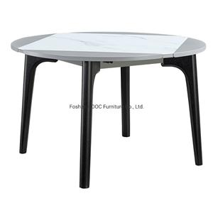 668 Living Room Furniture Craft Glass Dining Table