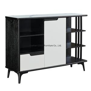 1908 Modern Glass Furniture Sideboard Cabinet End Table TV Stand Lateral File Living Room Furniture