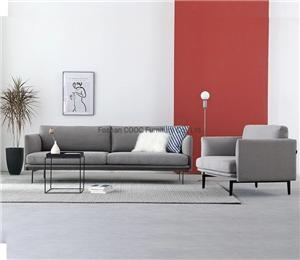 HYB-1002 Deep Soft Couches Modern Fabric Sofa