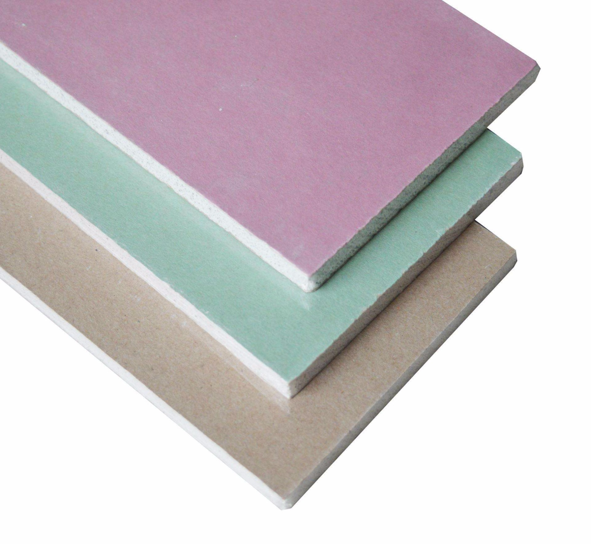 ceiling linings includes standard plasterboard, fire, water, impact and sound resistant boards.