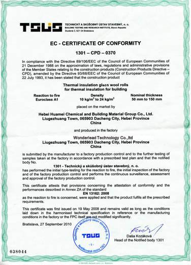 EU CE Certification