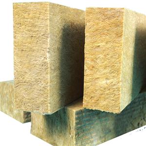 External wall insulation rock wool