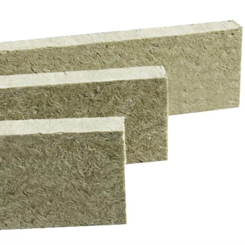Rock wool fire barrier