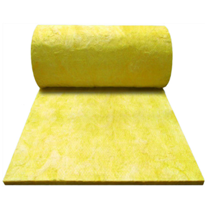Formaldehyde free glass wool