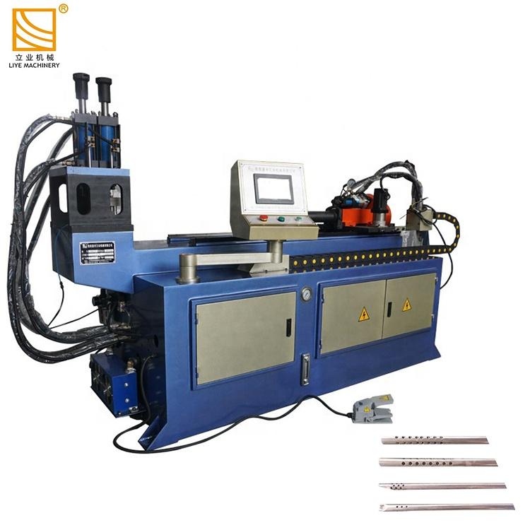 Автоматическая машина для высечки отверстий для стальных труб с ЧПУ