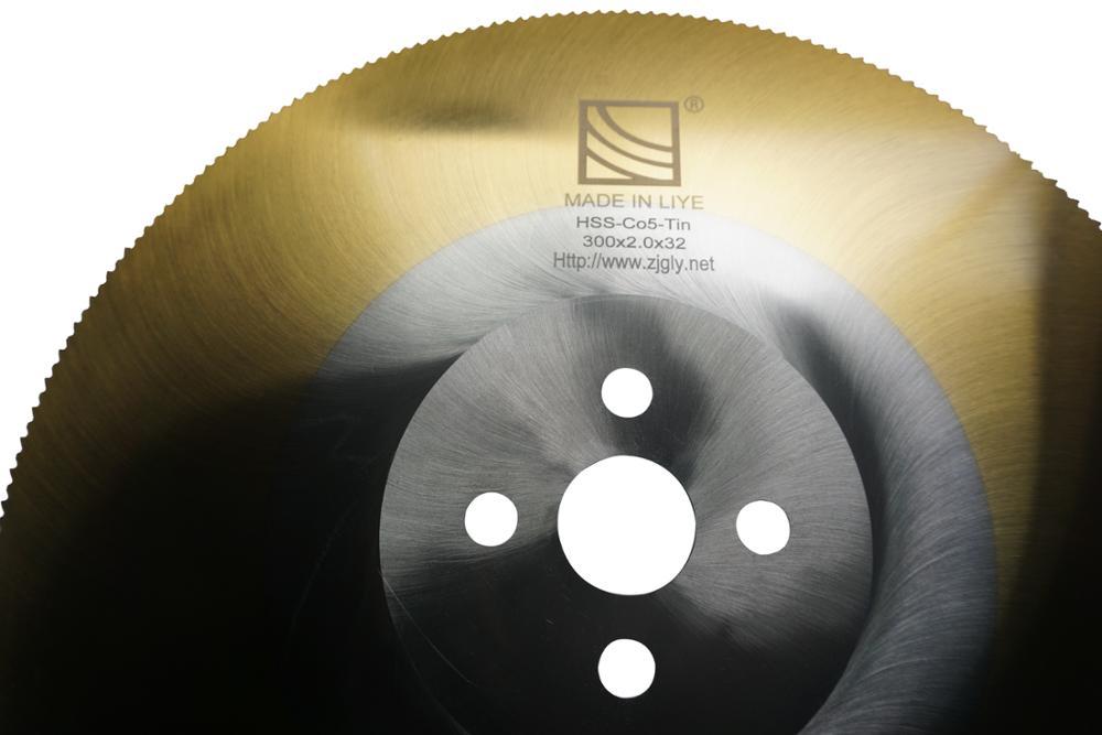 Резки металла Ti, покрытое покрытие, HSS пильный диск
