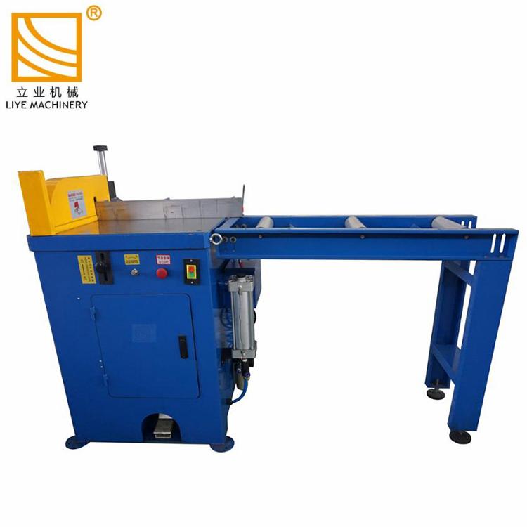 Semi-automatique machine de découpe de tuyau en aluminium de cuivre PVC
