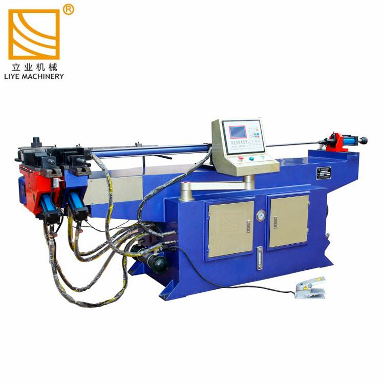 2 pouces machine à cintrer le tube semi-automatique hydraulique Mandrin