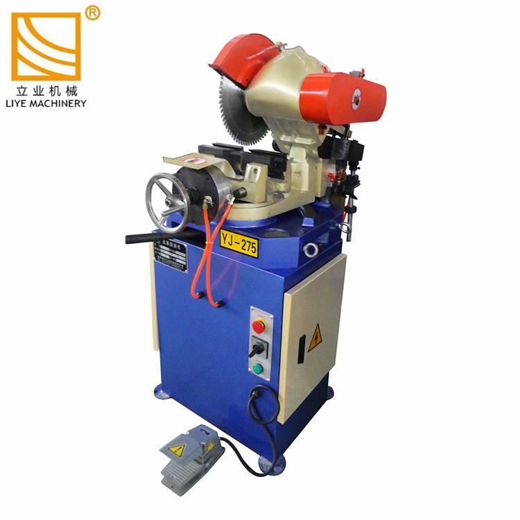 Machine de scie à froid de tube d'acier circulaire en métal pneumatique