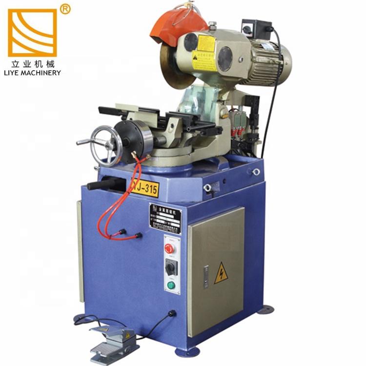 Machine de coupe-tube de scie circulaire en métal pneumatique