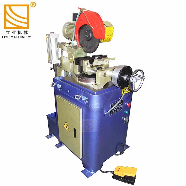 acier inoxydable pneumatique tuyau carré Machine de découpe