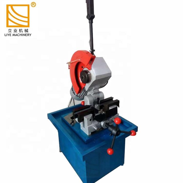 Main hydraulique opération manuelle machine de découpe de tuyau en métal