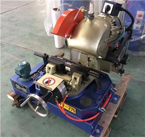 Machine de sciage à coupe-tube de type desktop pneumatique